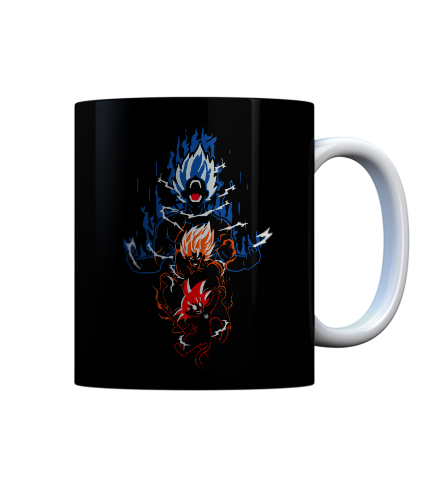 Whatever your evolution level may be, just drink from this dragon ball z inspired goku evolution coffee mug and it will help you reach your max power level.