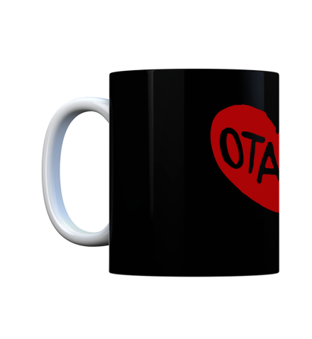 Grab this otaku coffee mug and show the whole world where your heart really is. A true otaku just cannot miss this design.